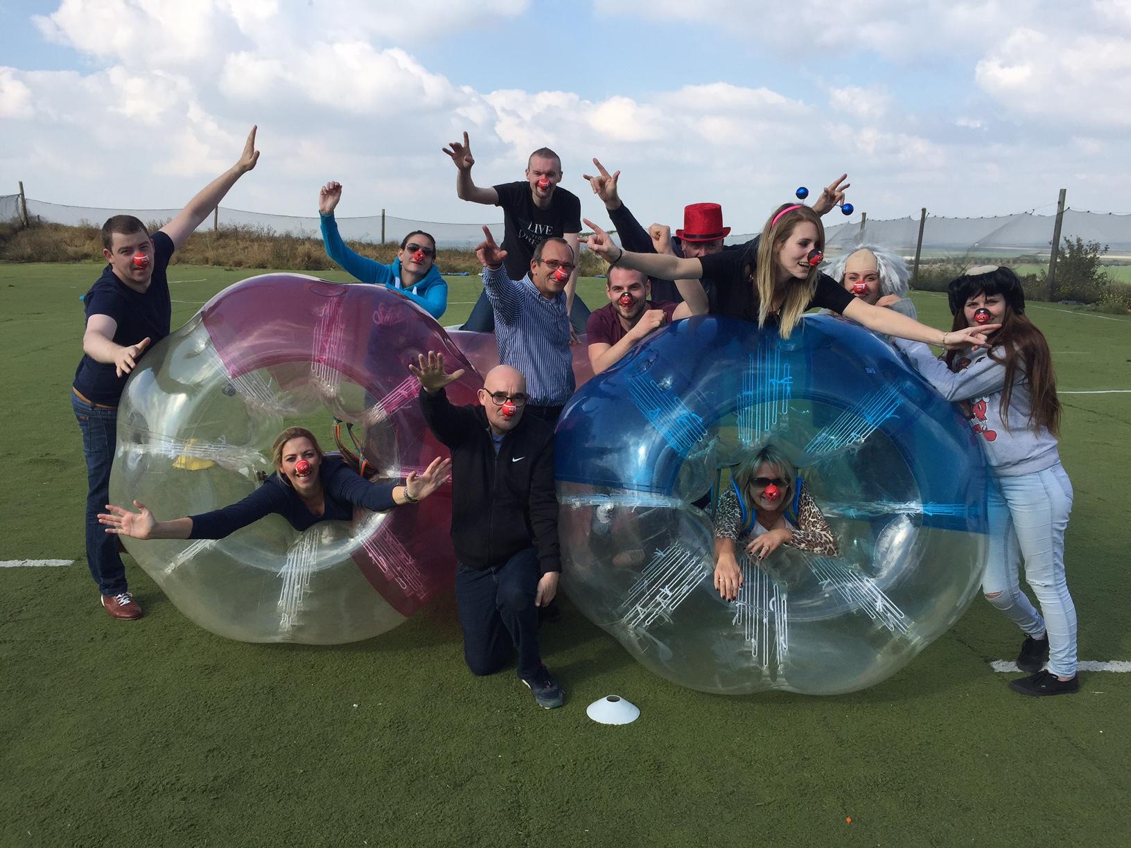 Le Bubble foot débarque à Reims