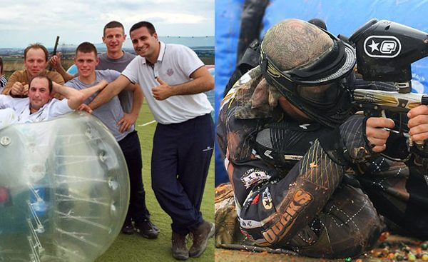 Formule Bubble Foot et Paintball avec Eastpaint